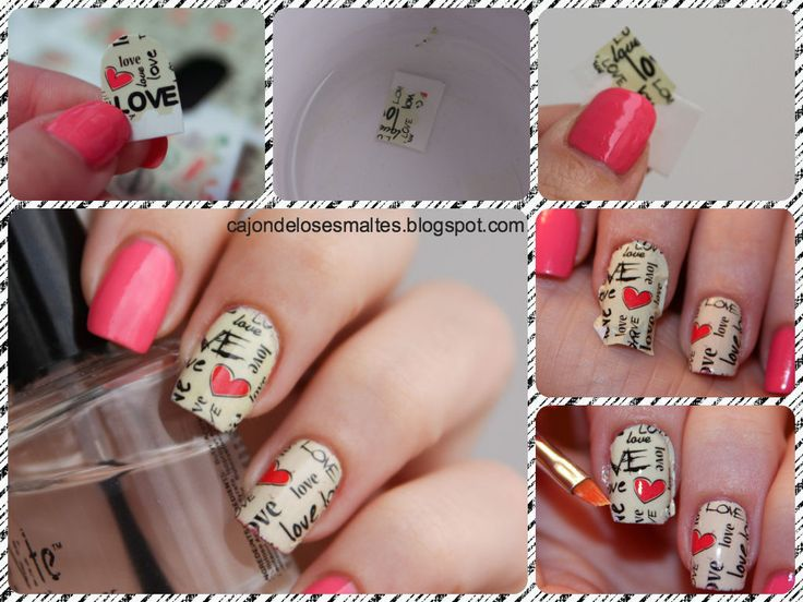 Tutorial - Full nail Water decals
