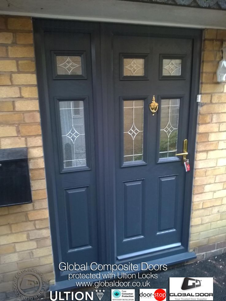 if youu0027re Looking for the Perfect Composite Door u0026 Frame for your home? The look no further than Global Door! Available for both DIY or fully fitted to any ... & 58 best Grey Composite Doors from Global Door images on Pinterest