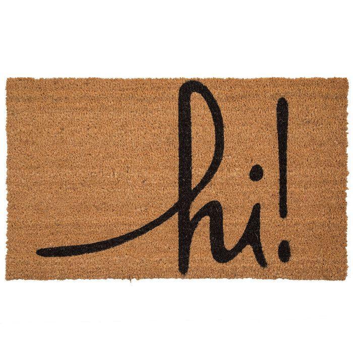 Hi Doormat Hobby Lobby 1613876 In 2020 Door Mat Door Mat Diy Welcome Mats