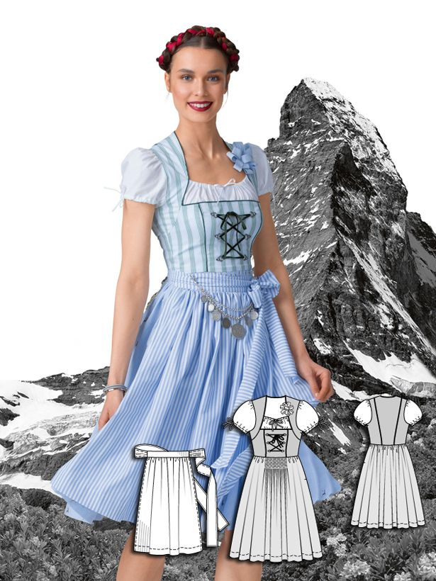Darling Dirndls: 5 New Dress Patterns                                                                                                                                                      More
