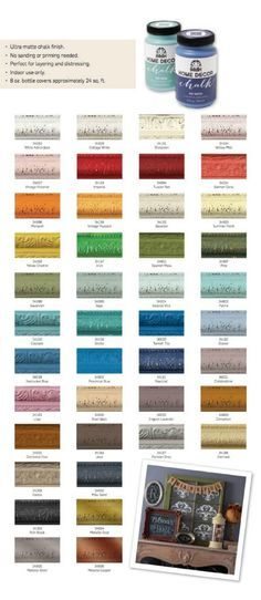 10 best Chalk Paint images on Pinterest Chalk paint colors