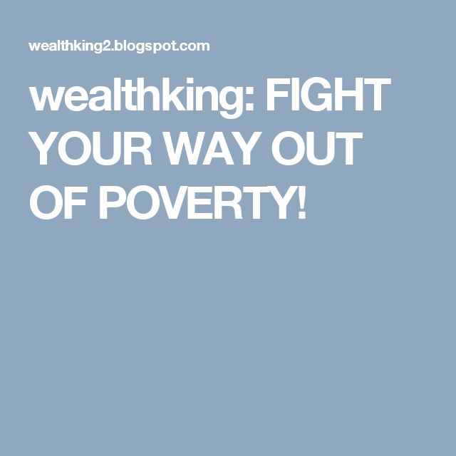 wealthking: FIGHT YOUR WAY OUT OF POVERTY!