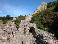 Remains of Berwick Castle