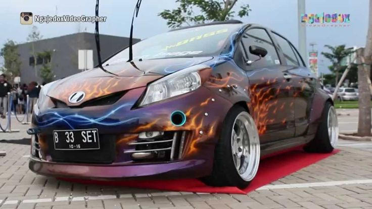 Modification Toyota Yaris a film by NgajedoxVideoGrapher