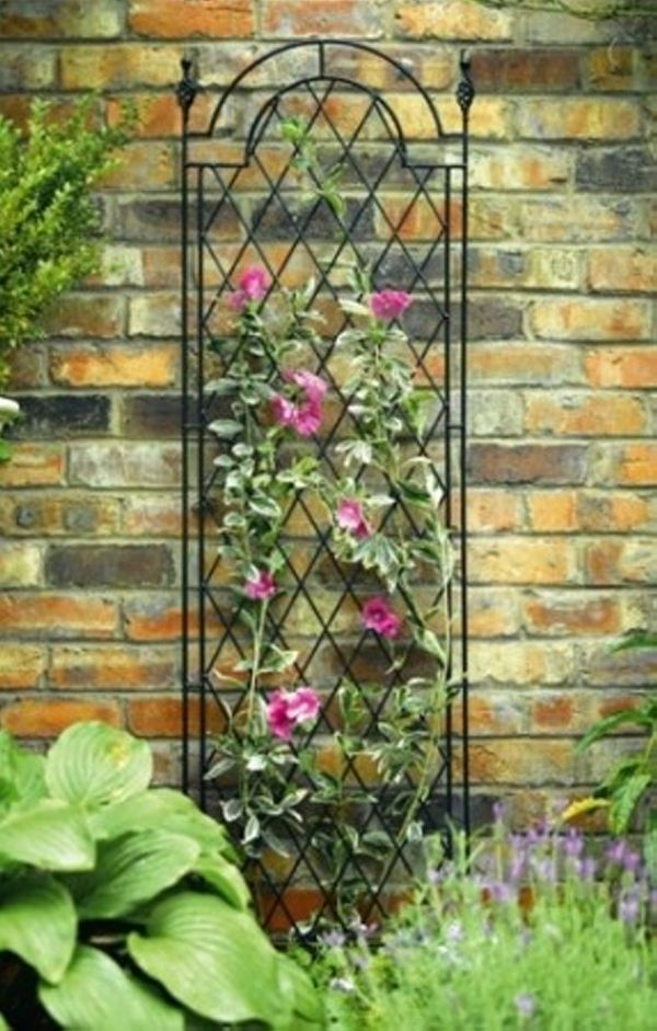 Copper trellises ideas for garden trellis ideas for Garden trellis ideas
