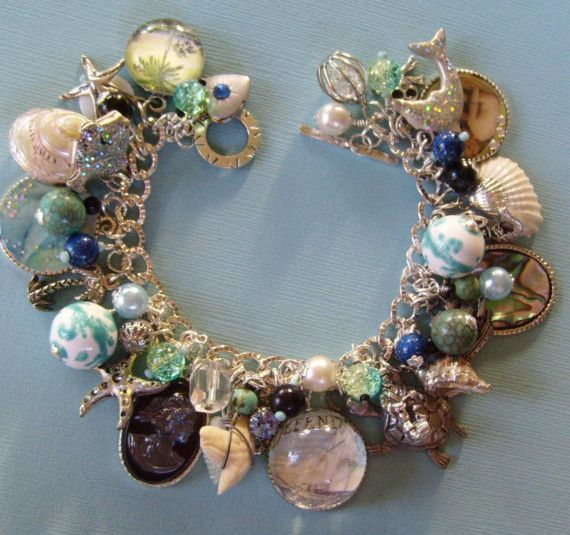 Life at Sea Pirate Mermaid Charm Bracelet