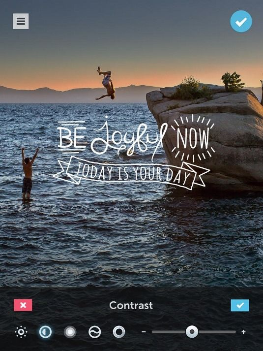 Turn photos into on-trend typographic images with PicLab HD | App design | Creative Bloq