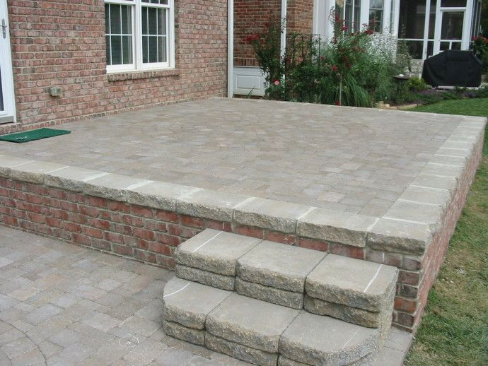 The 25+ Best Pavers Over Concrete Ideas On Pinterest | Paver Driveway Cost,  Concrete Pad And Concrete Curbing