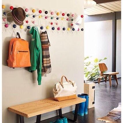 8 best hang it all eames porte manteau images on. Black Bedroom Furniture Sets. Home Design Ideas