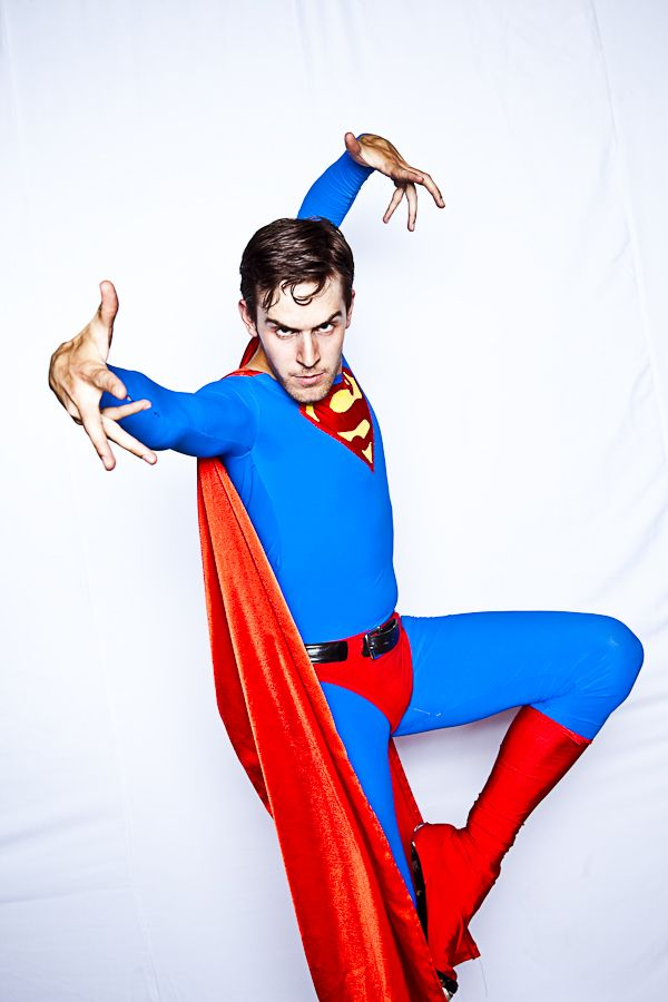 Rethink Romp 2010 | #superhero #superman #red #blue #cape #creative #inspiration #ideas #crimsonphotos | Photography By: Crimson Photos