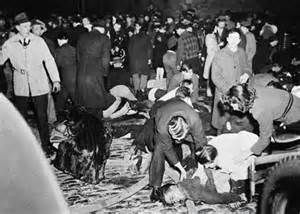 cocoanut grove examining an american tragedy Cocoanut grove--examining an american tragedy grove: examining an american tragedy as a failure of fire prevention policy and practice on november 28, 1942, approximately 1000 people packed into three main rooms of a two-level nightclub at 17 piedmont street in boston, massachusetts.