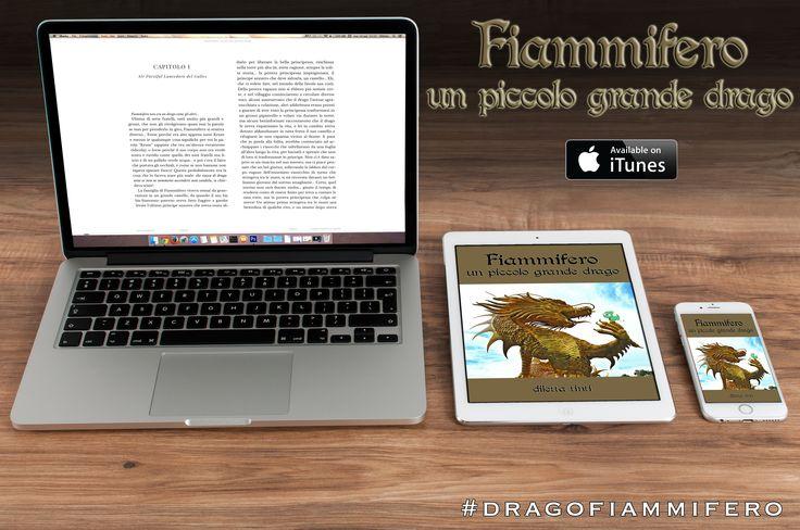"""""""Fiammifero: un piccolo grande drago"""" è anche su iTunes #dragofiammifero"""