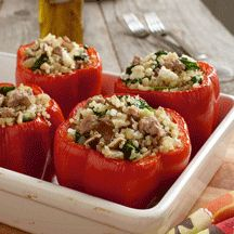 Ontario Turkey and Quinoa Stuffed Peppers   http://www.weightwatchers.ca/util/art/index_art.aspx?tabnum=1&art_id=54631