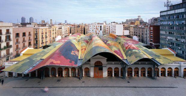 Santa Caterina Market - Miralles & Tagliabue - Barcelona