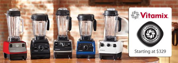 How to Get a Certified Refurbished Vitamix + FREE SHIPPING GIFT