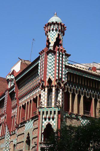 17 best images about gaudi casa vicens on pinterest ceramics barcelona and barcelona catalonia - Casa vives gaudi ...