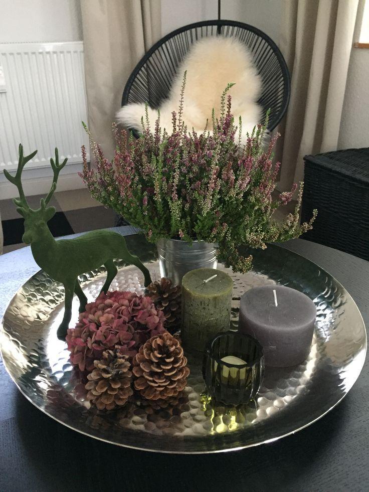 herbstdeko tablett vianoce herbst dekoration. Black Bedroom Furniture Sets. Home Design Ideas