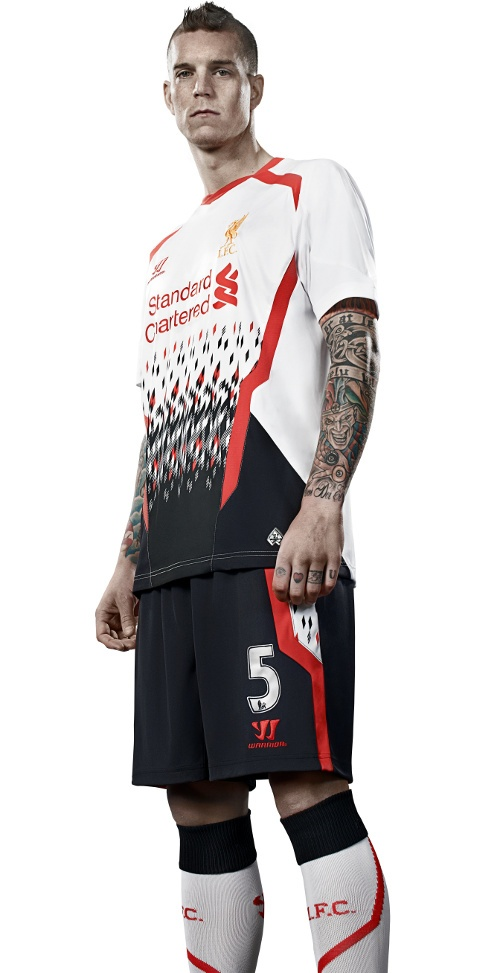 Pre-order the brand new LFC away kit for 2013-14 now - http://store.liverpoolfc.tv/warrior/lfcawaykit/s/c/c #RiseUpLFC