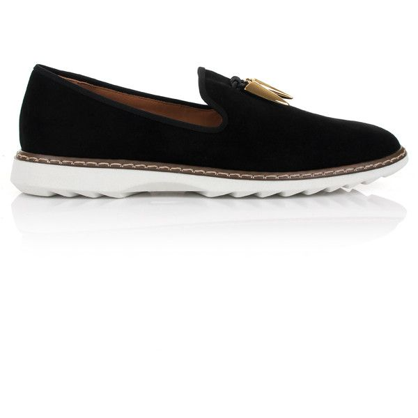 Giuseppe Zanotti Stew Loafers ($775) ❤ liked on Polyvore featuring men's fashion, men's shoes, men's loafers, giuseppe zanotti mens shoes, mens black loafers, mens black loafers shoes, mens loafer shoes and mens slipon shoes