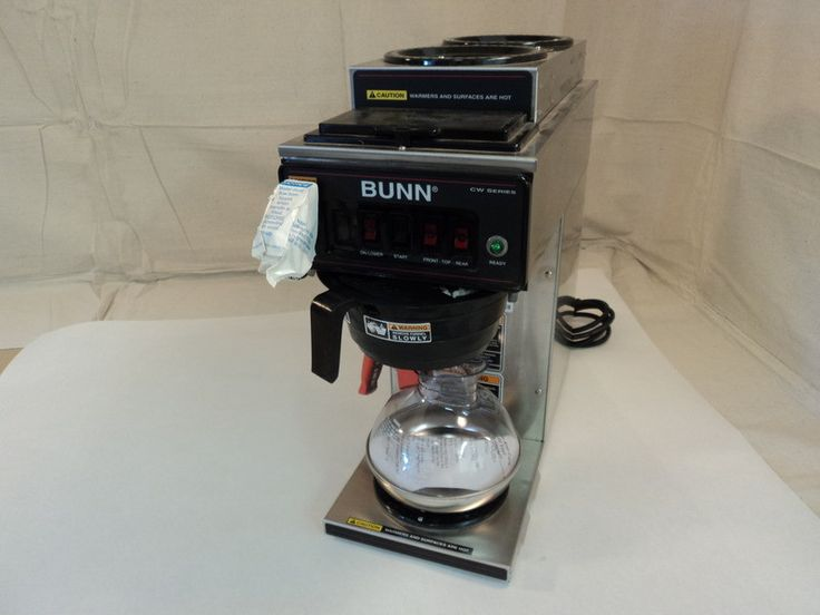 New Coffee Maker Vinegar : 17 Best ideas about Bunn Coffee on Pinterest Bunn coffee makers, Clean washer vinegar and ...