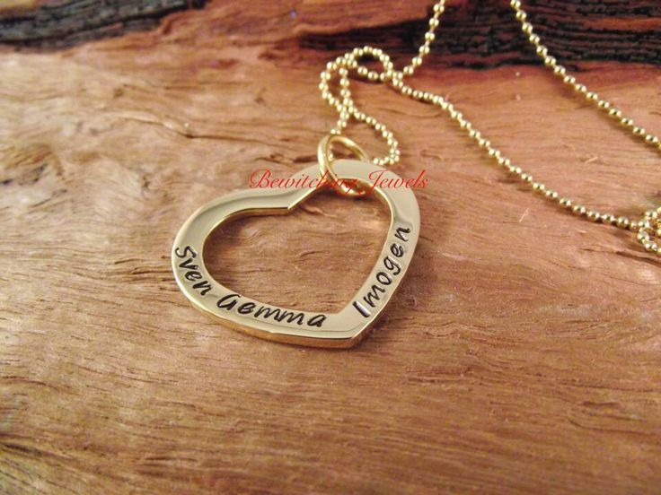 Gold heart #bewitchingjewels www.fb.com/bewitchingjewels