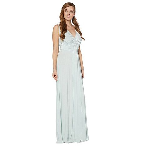Debut Pale green build up jersey maxi dress- at Debenhams Mobile