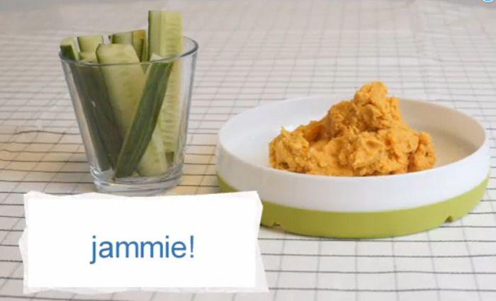 Recept voor gezond babyhapje:  zelfgemaakte hummus
