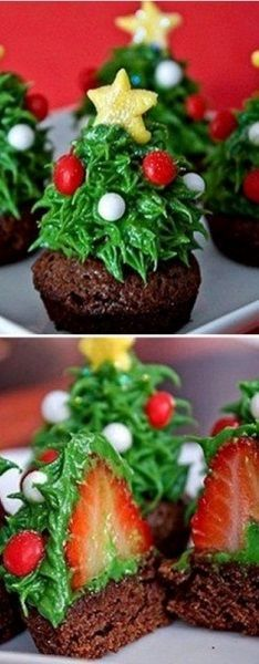 Lovely Christmas Cupcakes - Recipe