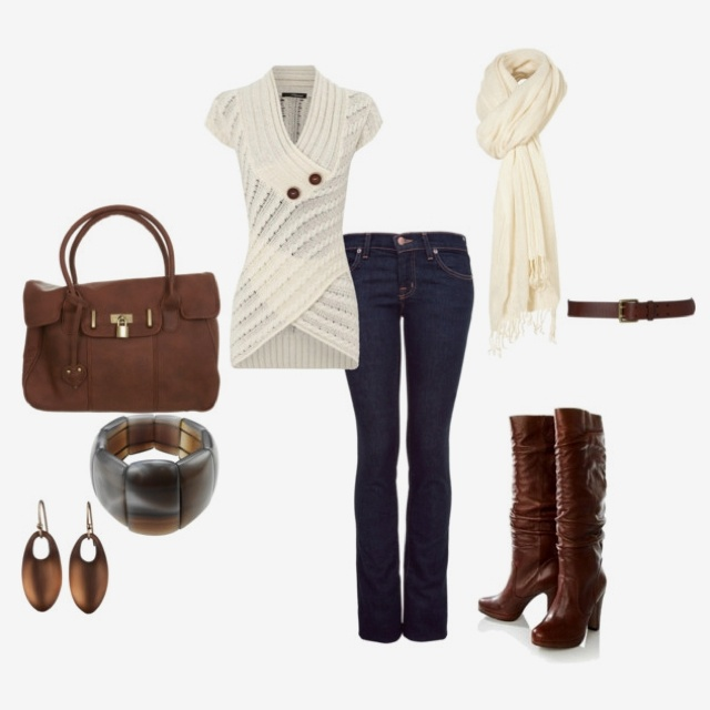 Boots, Sweaters & Scarfs....Love Fall clothes!