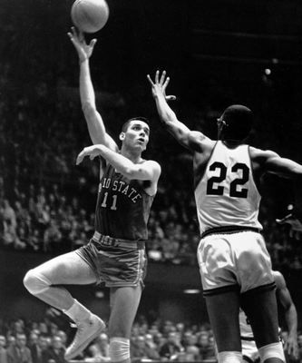 Jerry Lucas was playing basketball for Ohio State when I was a student there.
