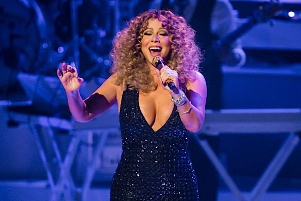 Mariah Carey Hits the High Notes, Shows Off the Girls in Las Vegas Opener