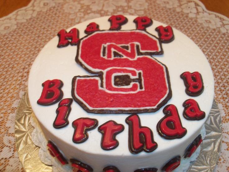 NC State Birthday Cake. | Cakes | Pinterest | Birthday ...