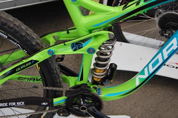 2013 Norco Aurum Le Downhill Prototype