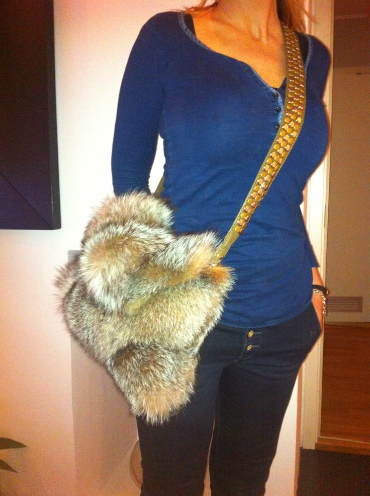 Homemade handbag