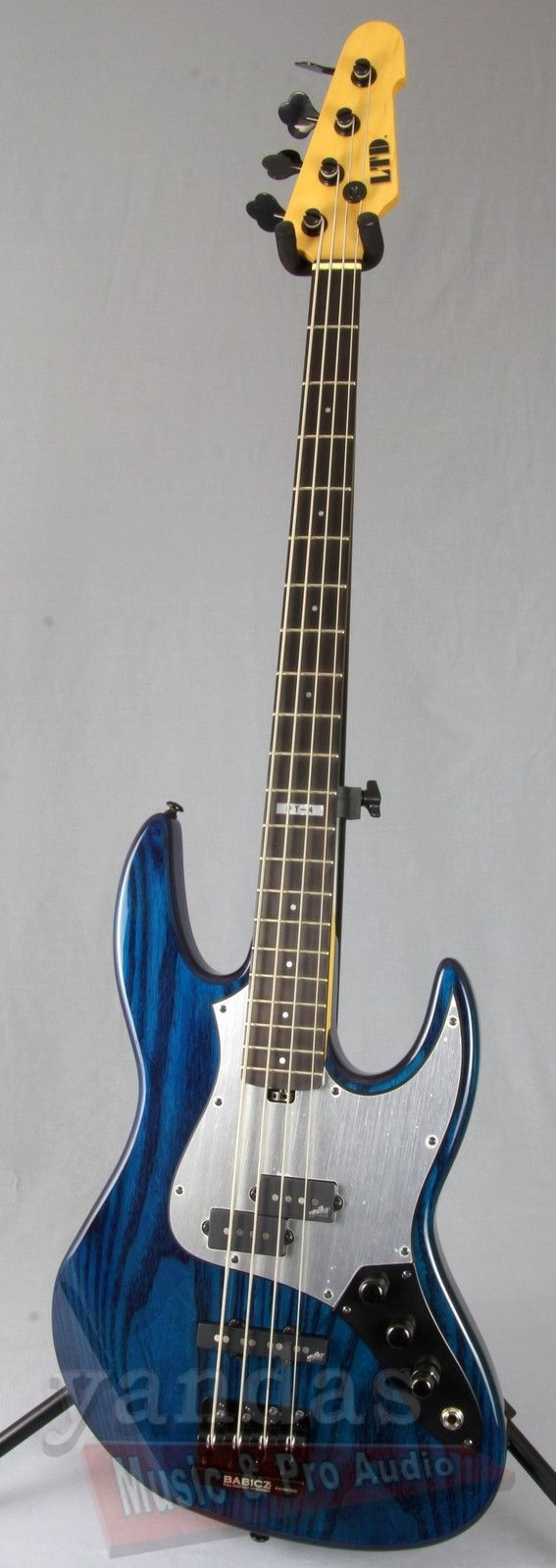 Signature Pancho Tomaselli Signature Bass Guitar From LTD Pancho Tomaselli is the master bassist of legendary funk pioneers War and multi-form power trio PHILM with veteran musicians Gerry Nestler and - more on www.guitaristica.org #bassguitar #guitars #guitaristica
