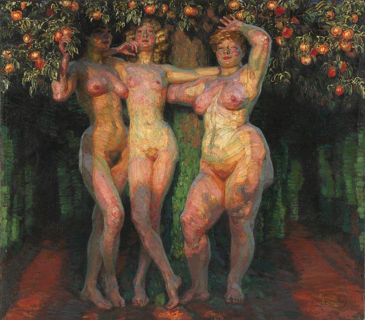 František Kupka - 'Autumn Sun', photo: National Gallery