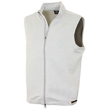 Callaway Golf 2015 Mens Πλήρης Ταχυδρομικός Stretch Fleece Vest - High Rise - L