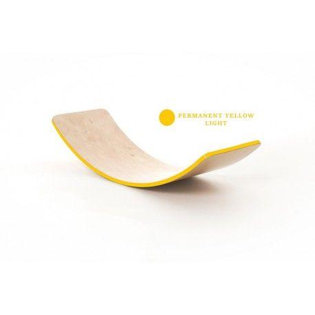 Planche d'équilibre Creatimber vernis    - Creatimber Couleurs Jaune 516
