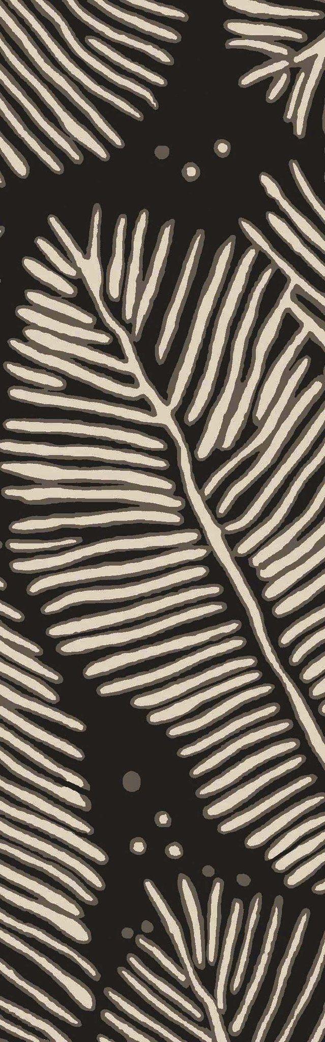 Surya Artisan ARI1000 Black/Neutral Tropical Area Rug