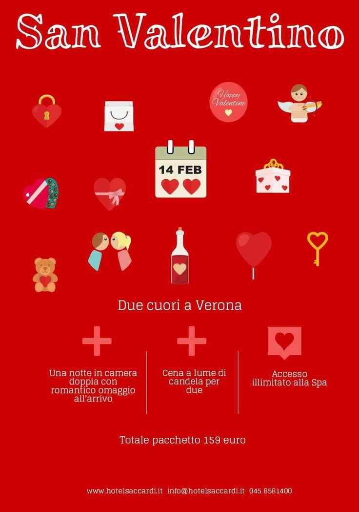 San Valentino - Hotel Saccardi & Spa - Verona - San Valentino