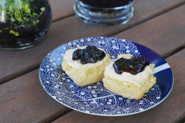 Sweet scone recipe http://craftycakecreative.blogspot.co.nz/2015/11/sweet-scones-with-clotted-cream-and-jam.html