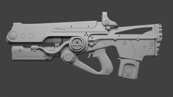 Modeler Nimi Becza creates truly amazing Bad Juju rifle replica from Destiny MMO shooter