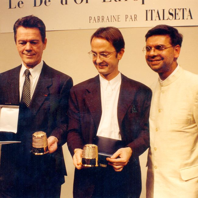 For decades, Lecoanet Hemant have been stalwarts in the global fashion industry bringing together East and West with elegance. In 1994, they won one of the world's most prestigious awards, The Golden Thimble in Paris.