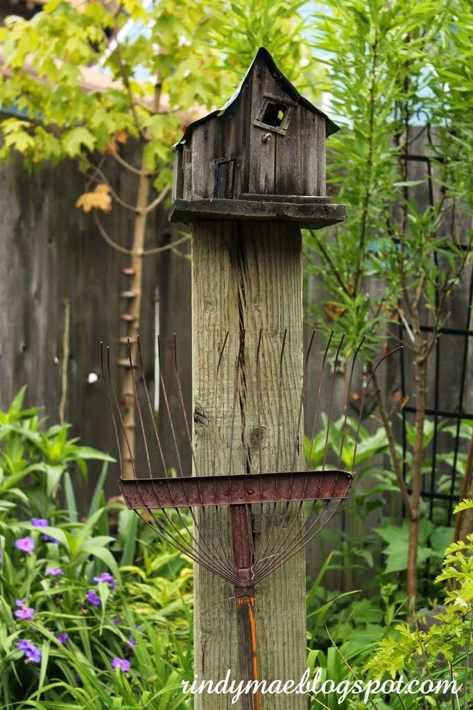 bird house or fairy house? either way we like it!