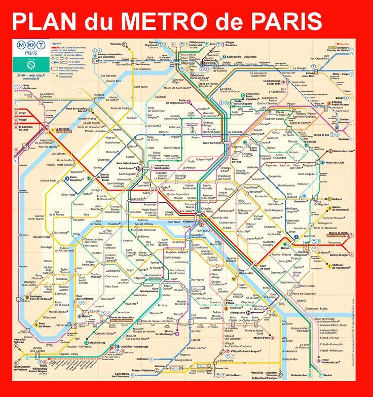 Rencontre dans le metro parisien