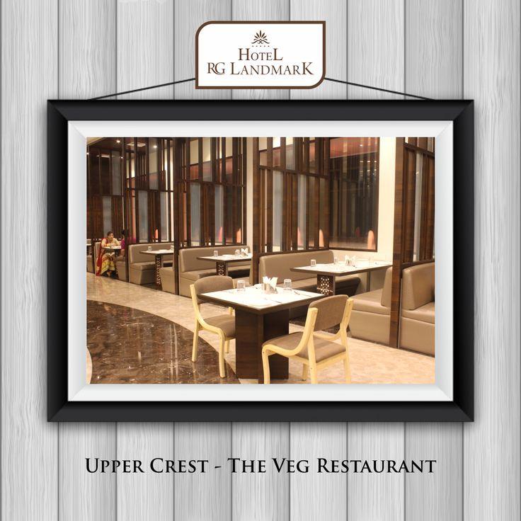 Upper Crest – The Veg Restaurant #uppercrest #vegrestaurant #hotel #rglandmark Visit - https://www.rglandmark.com/banquets-meetings/