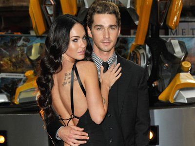 shia labeouf & megan fox