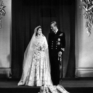 Vintage Bride: Hochzeitsfoto von Queen Elizabeth und Prince Philip