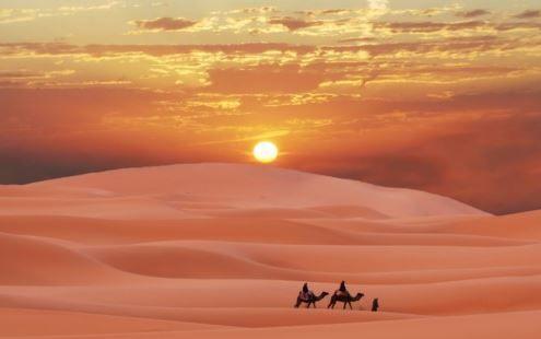 Lasciare Fes e la sua intricata nuvola di strade significa in qualche modo ritrovare l'orientamento. Si parte per il deserto, attraverso le montagne del Medio Atlante, da cui si gode una vista panoramica sulle piantagioni di cedro e sui fiumi più importanti del Marocco.