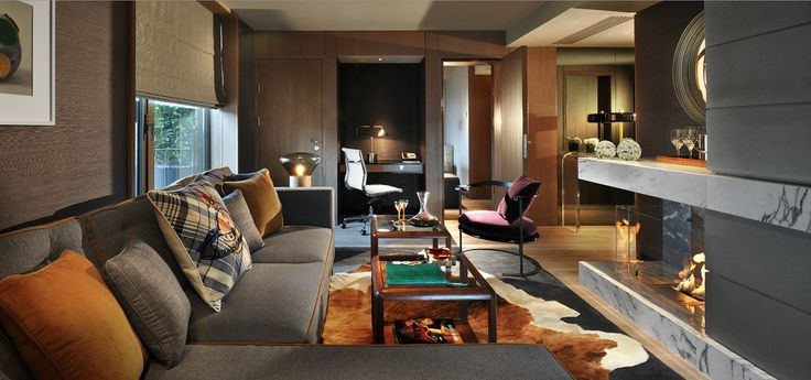 Penthouse Living Room | by Thompson Hotels